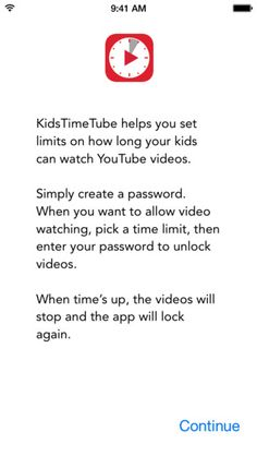 KidsTimeTube - timer for YouTube with Safety Mode ($1.99) Safe video watching with easy-to-use time limits, protected by your personal password. KidsTimeTube is the only app that both limits viewing time and automatically turns on YouTube's Safety Mode to block inappropriate content.  Limit time and content with KidsTimeTube. Watch Youtube Videos, Youtube S, Best Kids Watches, Cool Watches, Autism Support, Tech Support, Autism Apps, Internet Safety, Assistive Technology