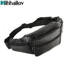 $7.88 (Buy here: https://alitems.com/g/1e8d114494ebda23ff8b16525dc3e8/?i=5&ulp=https%3A%2F%2Fwww.aliexpress.com%2Fitem%2F2016-Men-Travel-Bags-Mens-Leather-Belt-Bag-Waist-Pack-Men-Waist-Bag-Fanny-Pack-Leather%2F32751427621.html ) 2017 Men Travel Bags Mens Leather Belt Bag Waist Pack Men Waist Bag Leather Waist Pochetes Homem Bolso Cintura KY-44 for just $7.88