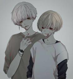 Anime W, Evil Anime, Blue Anime, Dark Anime Guys, Cool Anime Guys, Cute Anime Boy, Anime Art Girl, Wolf Boy Anime, Anime Triste