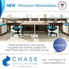 Now with over 1000 components that offer endless possibilities to fit you and your space, plus an expanded selection of storage options allow you to stay organized your way. Contact Chase Office Interiors for more information. 1-877-922-0118