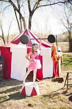 DIY Circus Performer Halloween Costume