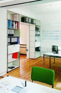 USM Haller rangement | Round Office | Mobilier de bureau Genève