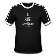 ENFP ~ Keep Calm and Adventure On Men's Retro Tee ~ 235 - LOVE!!! medium!