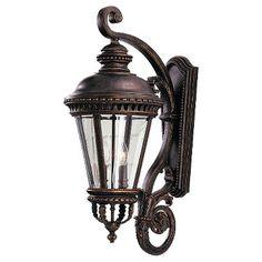 Feiss OL1904GBZ,4 - Light Wall Lantern,Grecian Bronze