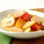 Fresh Fruit Salad with Nutmeg-Cinnamon Syrup Recipe   MyRecipes.com