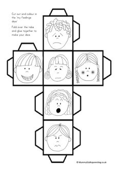 Items similar to All about me topic theme - starting preschool pack. worksheets and teaching resources for preschool, prek, reception,kindergarten on Etsy All About Me Preschool Theme, Feelings Preschool, Feelings Activities, Preschool Learning, Preschool Activities, Patron Cube, All About Me Topic, Social Emotional Activities, English Activities