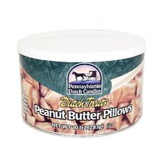 Pennsylvania Dutch Candy, Peanut Butter Pillows - 10 oz by Pennsylvania Dutch in Hard Candy | 1950's Candy at Hometown Favorites Retro and Nostalgic Candy - Hometown Favorites