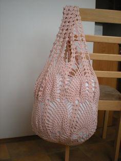 Crochet bag pattern By Emmhouse Pineapple bag crochet von Emmhouse
