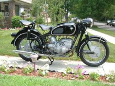 My 1968 BMW R60/2 Motorcycle after restoration.
