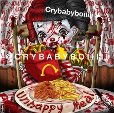 Melanie Martinez - Unhappy Meal Melanie Martinez, Billie Eilish, Cry Baby, Adele, Crying, Plastic Pollution, Creepy Things, Demons, Singers