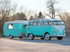 1963 VW Transporter with trailer