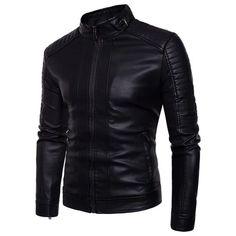 American Style Men's Slim Motorcycle Jacket – 4launt