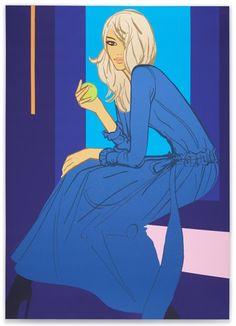 Miss Smith    2010   #Jason Brooks #fashion illustration #vector illustration #trafficnyc