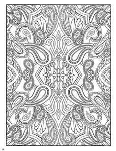 dover coloring pages | Paisley Designs Coloring Book (Dover Coloring Book)_Page_20 (540x700 ...