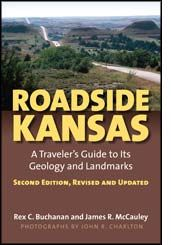 #NPS #TravelKS ... Two decades after its first publication, Roadside Kansas  remains the premier guide to the geology, natural resources, landmarks, and landscapes along nine of the Sunflower State's major highways.