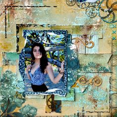 SUMMER DIVA and a new challenge at Scrap 365