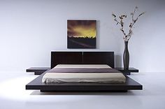 Peace & Tranquillity Reigns In The Emer Platform Bed