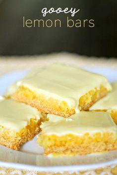 Gooey Lemon Bars   Six Sisters' Stuff