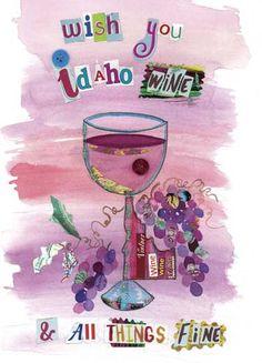 Idaho-Wine - a fun card from Chiquelixo.com