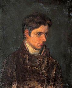 William Hazlitt (1778–1830) portrait by his brother, John Hazlitt