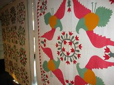 Notes from the Quilt Lab: Pleasures from the Pook Preview.  Love the tulip center!!