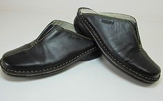 BREVITT BLACK QUALITY LEATHER MULES SLIP ONS SHOES SIZE UK 5 EURO 38 R10936 http://stores.ebay.co.uk/Sangriasuzies-Emporium http://www.sangriasuzie.com/ If any of the  items pictured in this blog/pin take your fancy they can be bought from one of the above addresses.  Or email me at drobertshq@hotmail.com   if you need more info.