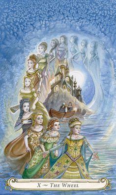 Lisa Hunt's Fairy Tale Tarot The Wheel