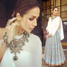 malaika arora khan, payal khandwala, indias got talent season 7, tv show, clothes worn by malaika arora khan