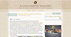 A LowCountry Wedding Feature
