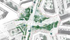 Skt Kjelds Plads plan