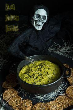 Killer Jalapeño Hummus