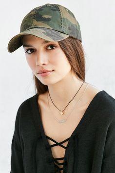 American Needle Washed Canvas Baseball Hat