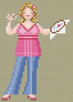 Cross stitch designer blog