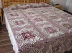 Crochet and arts: bedspread