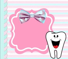 Tooth Fairy Images, Easy Toddler Lunches, Dental Health Month, Dental Art, Tooth Fairy Pillow, First Tooth, Healthy Teeth, Aesthetic Stickers, Baby Birth