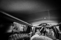 Sharing a heartfelt moment during their Disney Fairy Tale Wedding. Photo: Stephanie, Disney Fine Art Photography