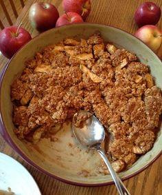 Clean Eating Apple Crisp