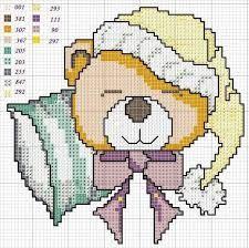 Risultati immagini per schemi copertine culla e lettino