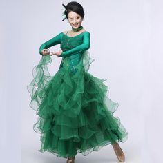 Waltz Dance, Dance Wear, Ballroom Dance Dresses, Modern Dance, Blue Green, Tango, Woman, How To Wear, Colors