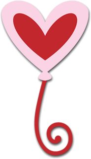 Free SVG File (Sure Cuts A Lot) 01.08.10 – Heart Balloon