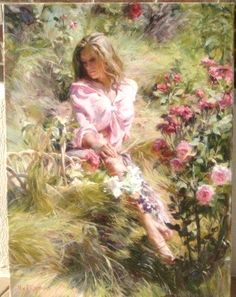 """Sunnyside on the Hill"" ~ Original oil on canvas ~ by Michael & Inessa Garmash"