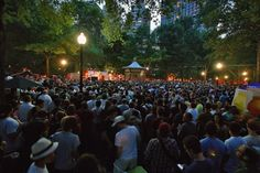 Concerts in the Park - Rittenhouse Square Summer Concert Series Philadelphia — visitphilly.com.  August