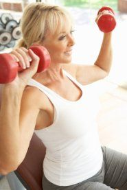Workout Routines for Women Over 50. I'm not near 50 but I knew exercise and eating habits can and does affect menopause. We as women can avoid this if we take care of our temples.