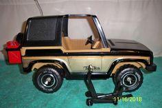 Tonka Mighty Bronco Type Adventure Buggy 1979 # 3954 with Jack+SpareTire+Rack  | eBay
