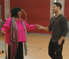 "#Valtalk Val ""I'll say it "" talking to artem , then to Ms Patti ""When we get to switch up week it will be my Honor"""
