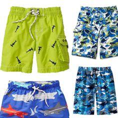 Cute boy's bathing suits