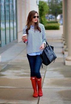 Outfits con botas de moda rojas   Moda en botas de temporada