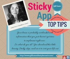 My Top Tip for running a ship shape and bang tidy business..http://www.gillfosterlifestylecoach.com/