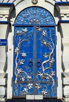 A Jurubeba Cultural: ●Uma visão de Arte... Uma porta.    (Cazã. República do Tartaristão. Rússia).