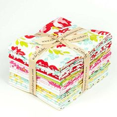 Primrose Garden Fat Quarter Bundle by Carina Gardner from Riley Blake 18 - Fat Quarters 100% Cotton Quilt Fabric Riley Blake Designs http://www.amazon.com/dp/B016IYXW38/ref=cm_sw_r_pi_dp_27Lkwb0GAD7SY